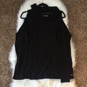 DKNY Sport Cold Shoulder Sweater